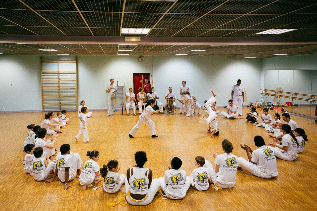 Cours de capoeira Paris 19