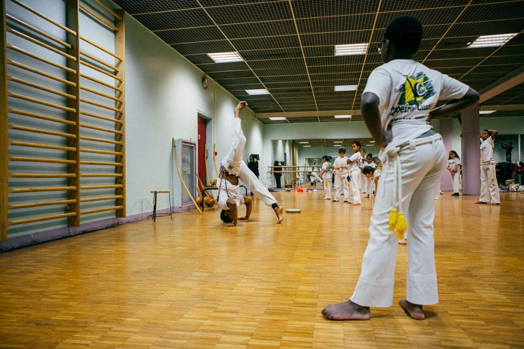 Capoeira Enfants paris 19