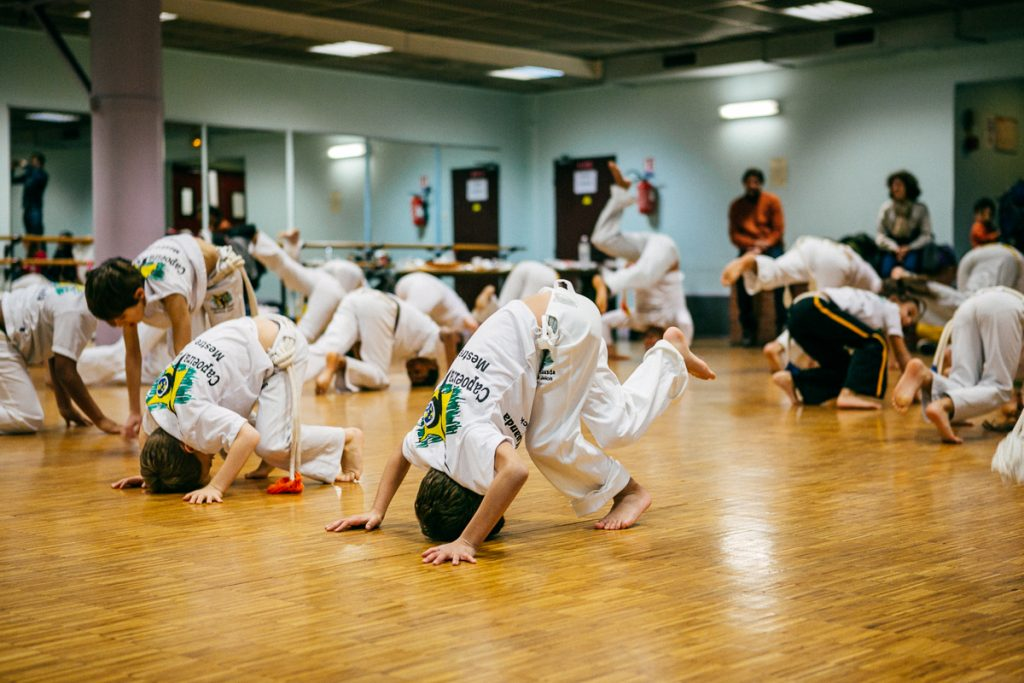 Capoeira enfants Paris 19