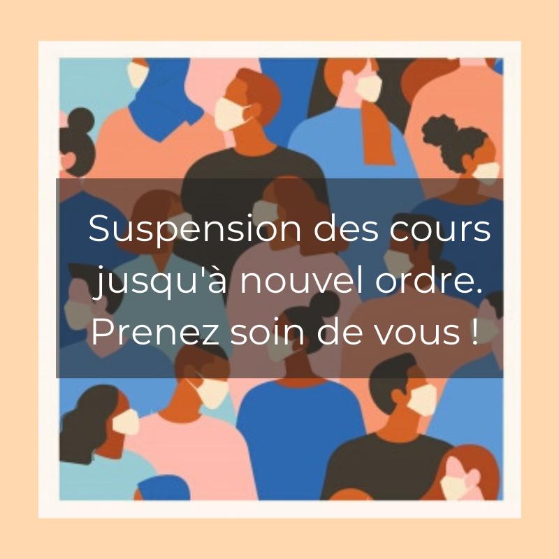 Suspension Cours Capoeira
