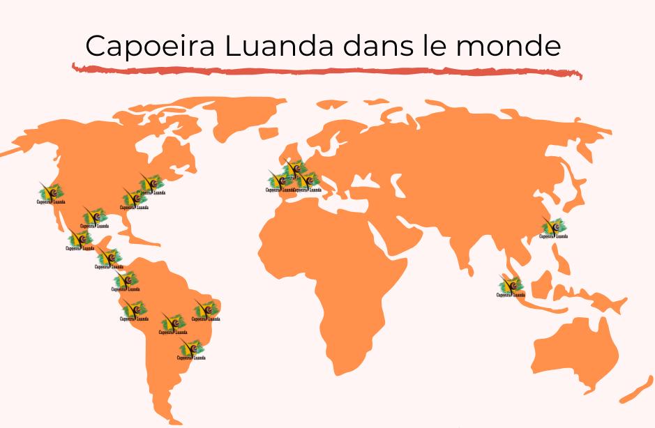 Ecole Capoeira Luanda dans le monde