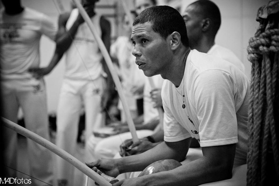 Contramestre Black école capoeira luanda