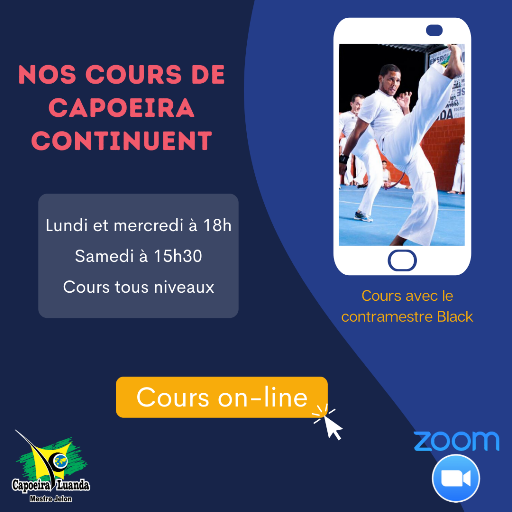Cours capoeira online