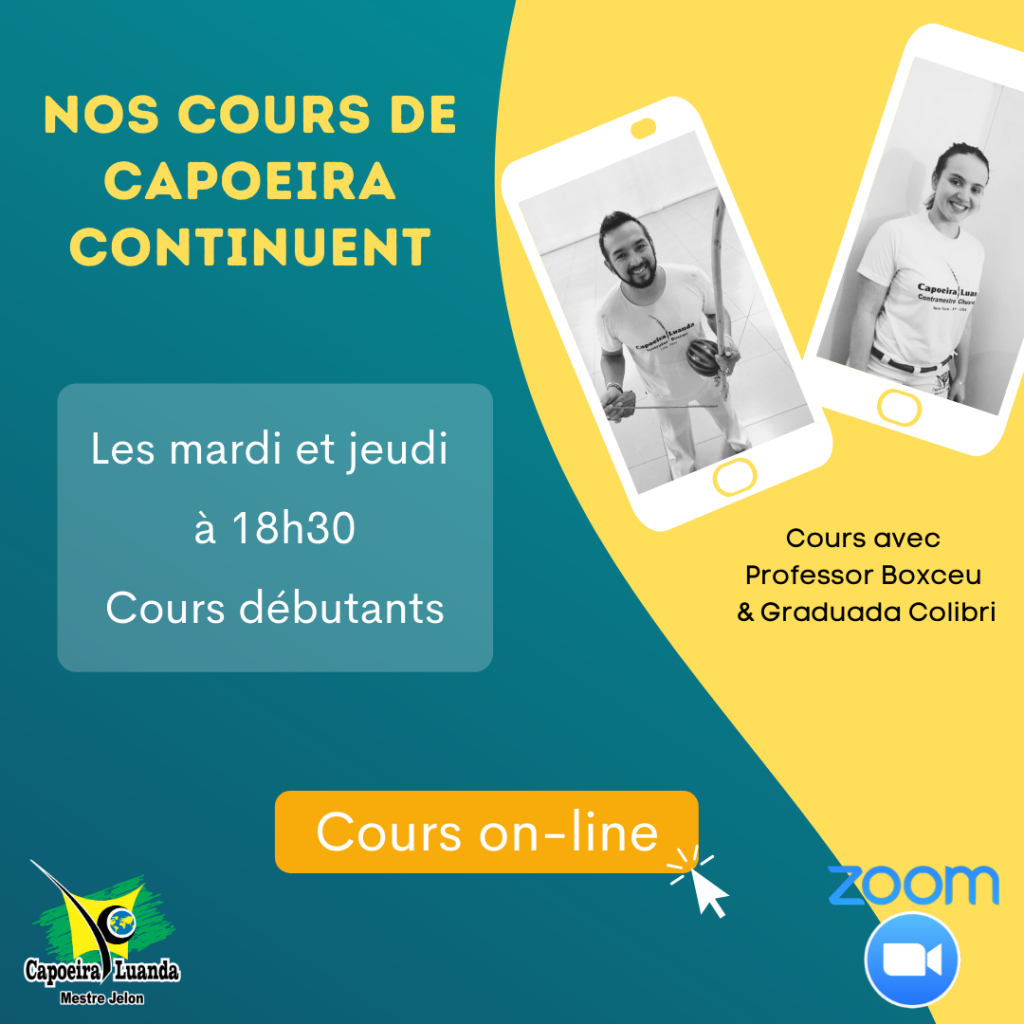Cours de capoeira on line Paris
