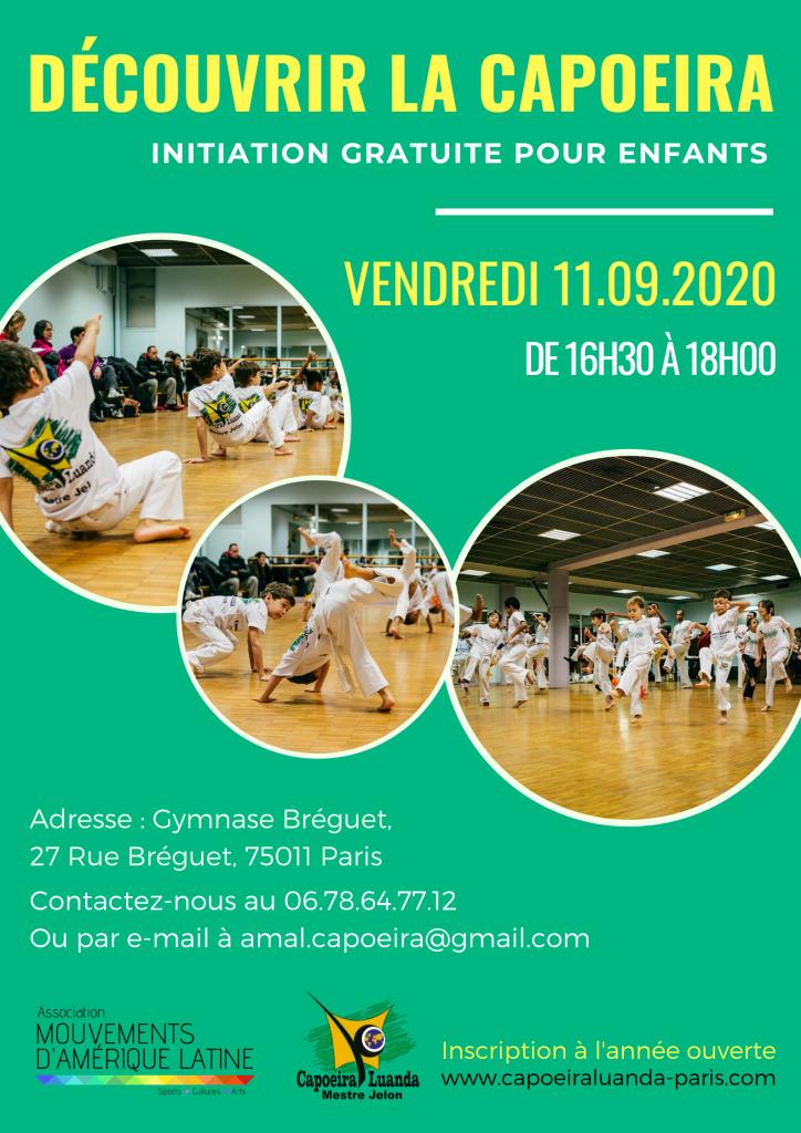 Initiation Capoeira Paris 11