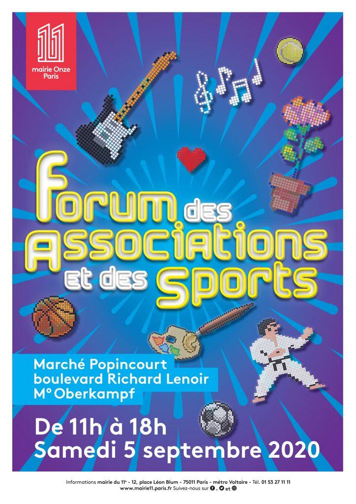 Forum des associations Paris 11