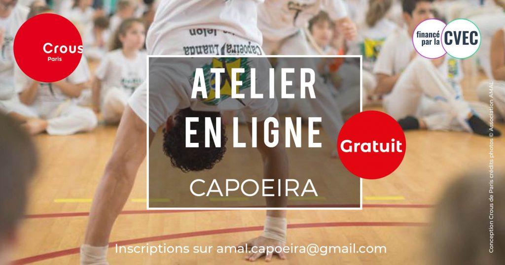Capoeira Etudiants Crous Paris