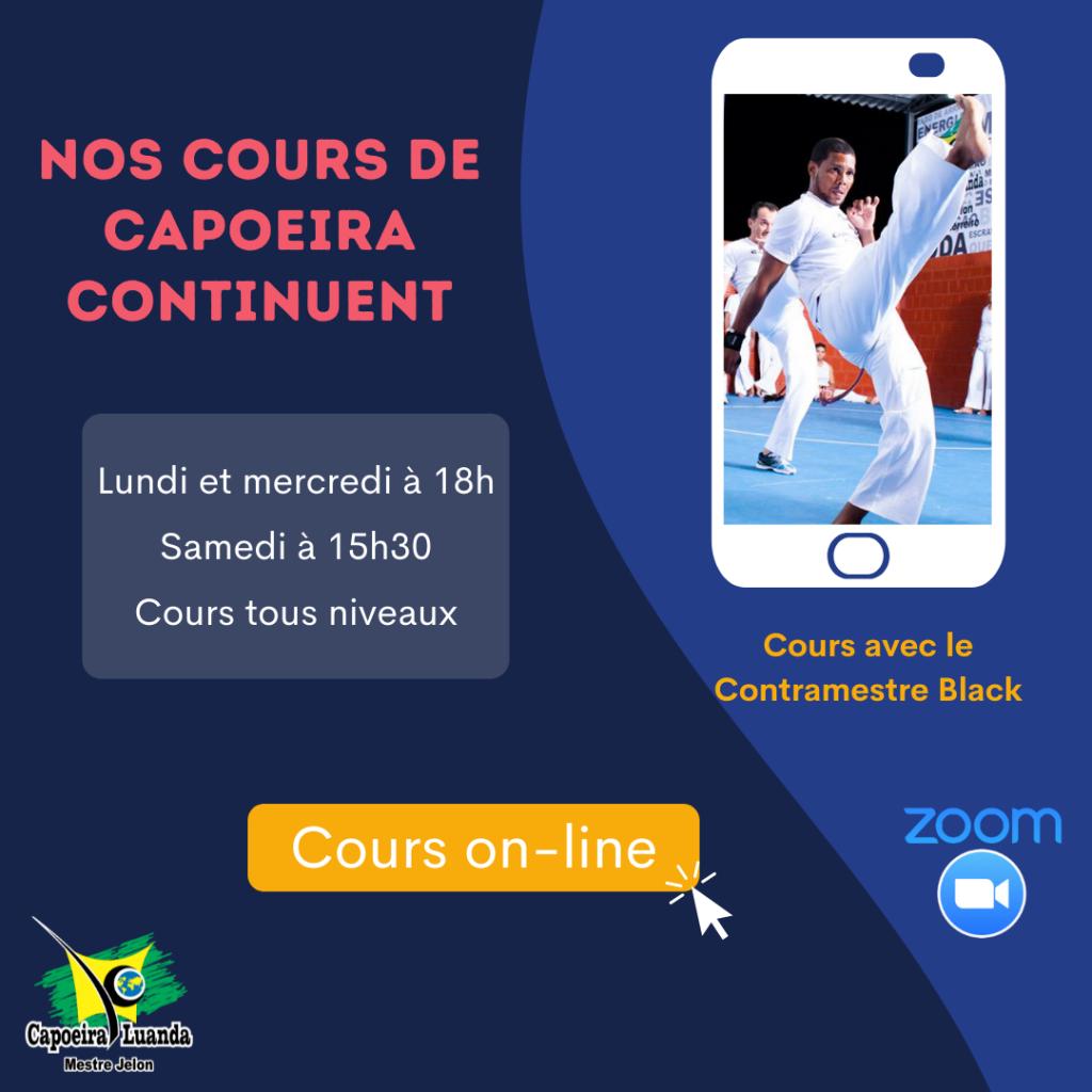 capoeira en ligne Black