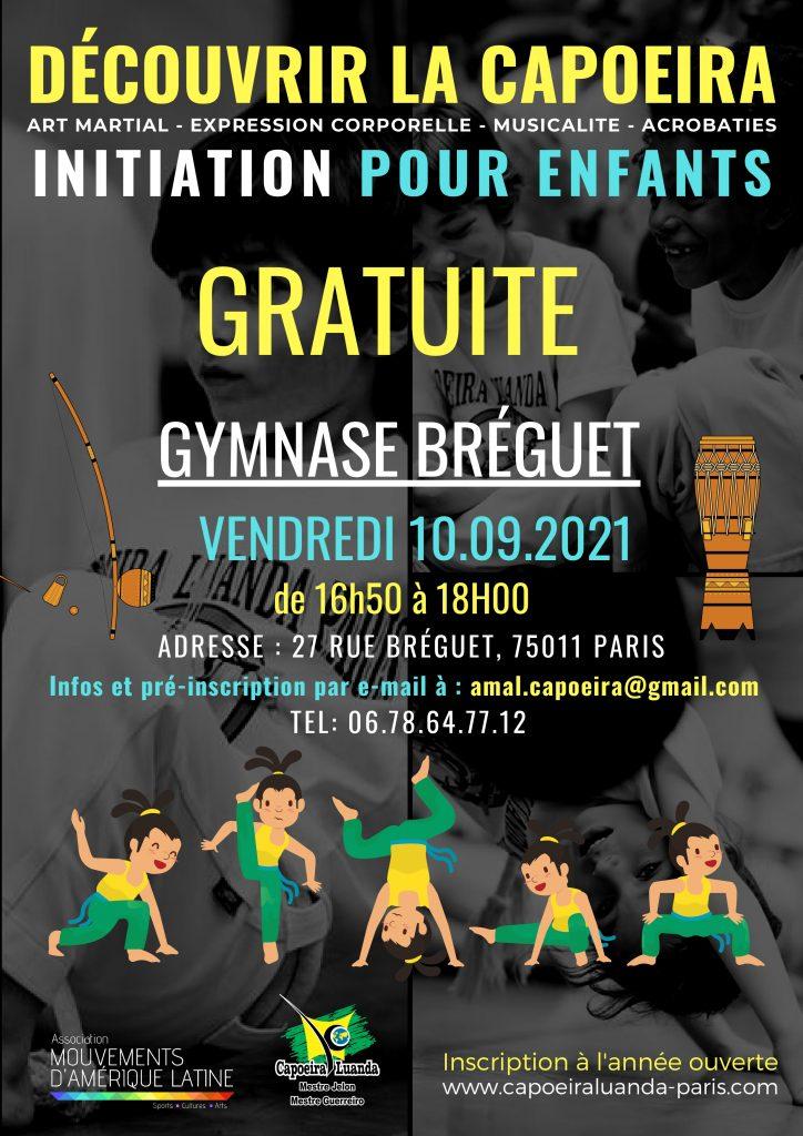 Capoeira Paris 11 initiation